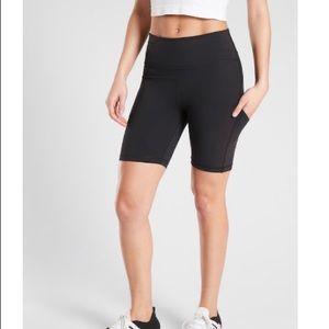 """NEW Athleta Bike Shorts 7"""" Ultimate Stash Pocket"""